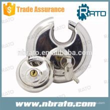 RP-132 stainless steel round disc padlock