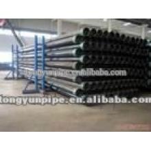 Chine asm a53 gr.b tuyau en acier noir
