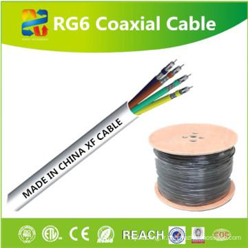 Chine Vente de câble coaxial 4RG6 de haute qualité