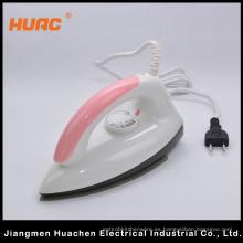 Electrodoméstico de hierro seco eléctrico de venta caliente Rosa