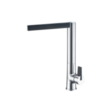 Single lever brass faucet for sink