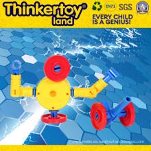 Hermoso modelo de pavo real juguetes educativos bloques de construcción juguetes