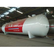 Tanque de la alta calidad 50-100m3 lpg, tanque de gas de la fuente lpg de China