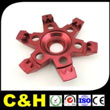 Китайский завод алюминиевых деталей для обработки CNC для анодирования