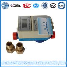 Medidor de agua de pulso prepago con válvula de motor 1/2 '' - 1 ''