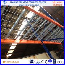 Steel Q235 - Rejilla de malla de alambre para el estante de la paleta en almacenaje del almacén