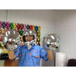 plastic helmet vacuum metalizing machine
