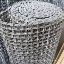 Flat wire conveyor belt
