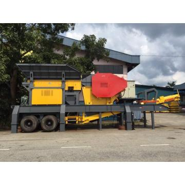 Mobile Crushing And Semi-Mobile Creening Plant