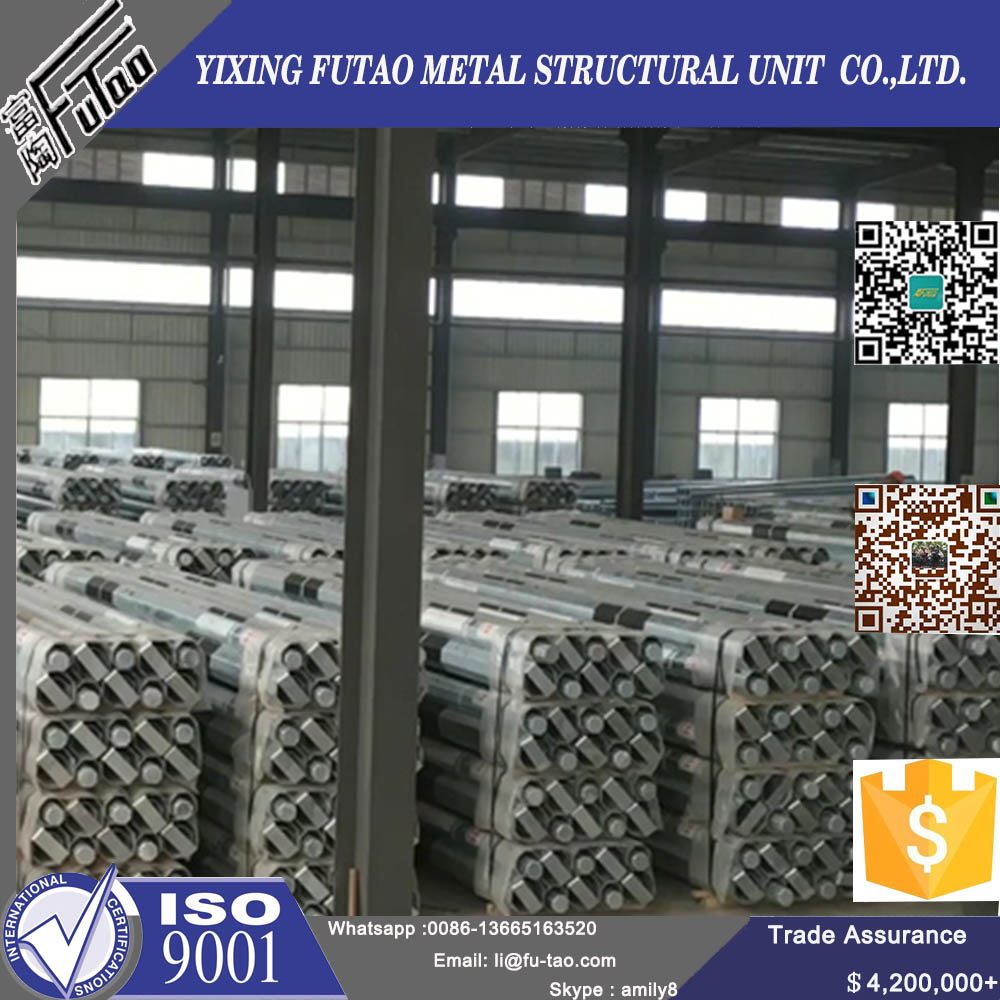 10Meters Steel Terminal Power Pole