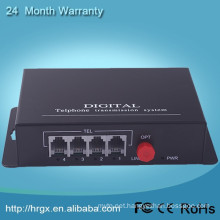 Voice FXO/FXS pots fiber multiplexer fxs gateway Telephone Fiber Optic Multiplexer voip phone adapter