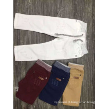 Calças de brim casual de bebê menino / design de moda para meninos crianças