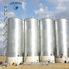 Corrugated projects farm storage steel silofeed silo