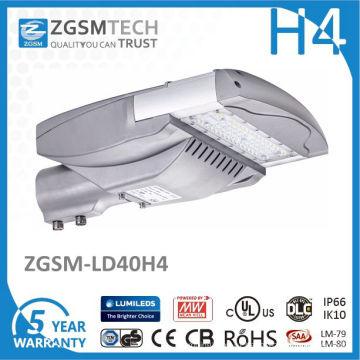 40 Вт Открытый светодиодный уличный свет дороги с CE и RoHS TUV в