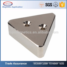 Motor Application Triangle Neodymium Magnet