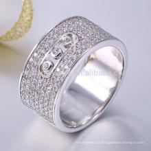 Anel de coroa de prata esterlina 925 mens anel de prata turquia