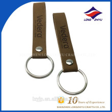 Custom Handmade Simple Car PU Leather Keychain
