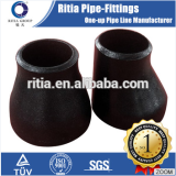 ansi a234wpb sch80 10inch black carbon steel pipe reducer