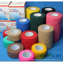 Bandage auto-adhésif avec différentes couleurs