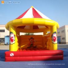 Castelos infláveis do trampolim inflável do leão-de-chácara da corrediça inflável