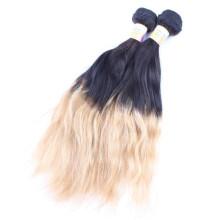 cabello brasileño gris y negro, ombre tejido natural