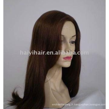 Perruque de cheveux russe casher