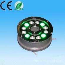 Alibaba nuevo producto expreso en el mercado de China 100-240v 12V 24V 9w 12w ip65 rgb fuente solar de la fuente 24v
