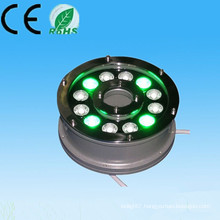 china supplier new product 100-240v 12V 24V 9w 12w ip65 RGB 24v underwater solar pool lights