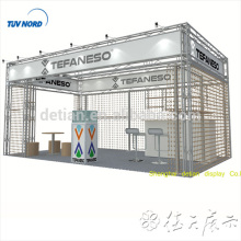 Detian offer cloth fair truss display booth custom trade show booth trade show exhibit display booth stand