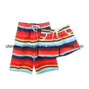Wholesale Colors Stripe Beach Shorts for Man, Beach Pants