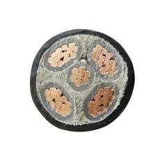 50mm2 xlpe souterrain ruban d'acier blindé abc solide câble d'alimentation de base fournisseurs