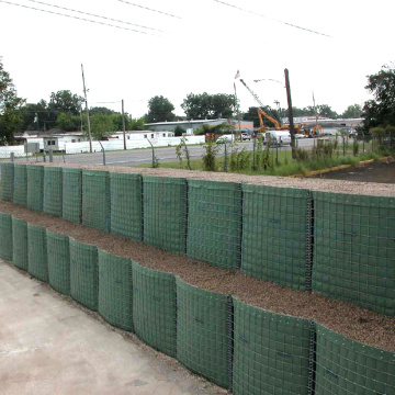 Gabion 옹벽 Hesco Blast Wall