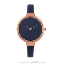 Lady Simple quartz watch with etched effect dials