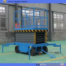 Sjy0.3-18 Manpower Movable Scissor Lift Platform