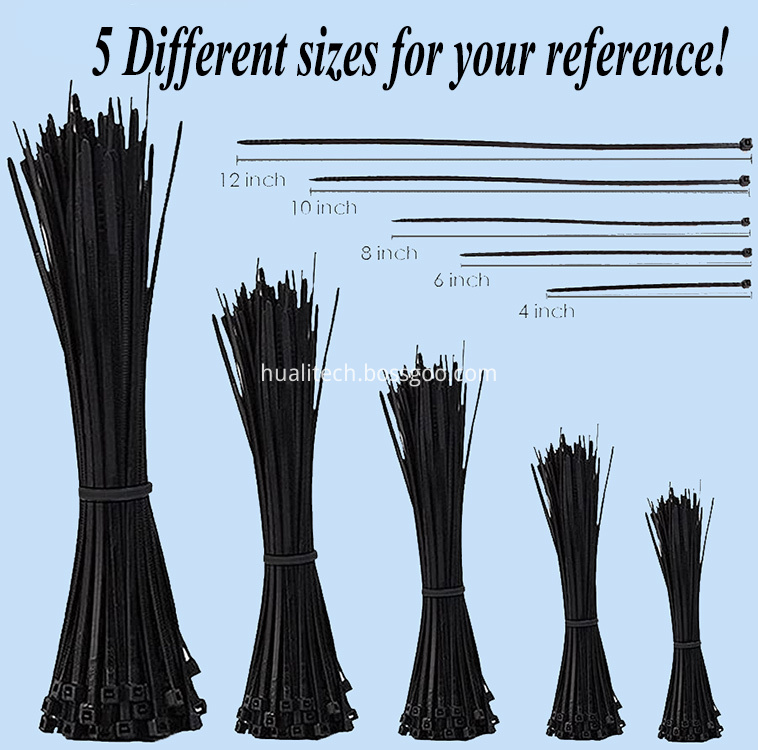 5 different sizes for your reference