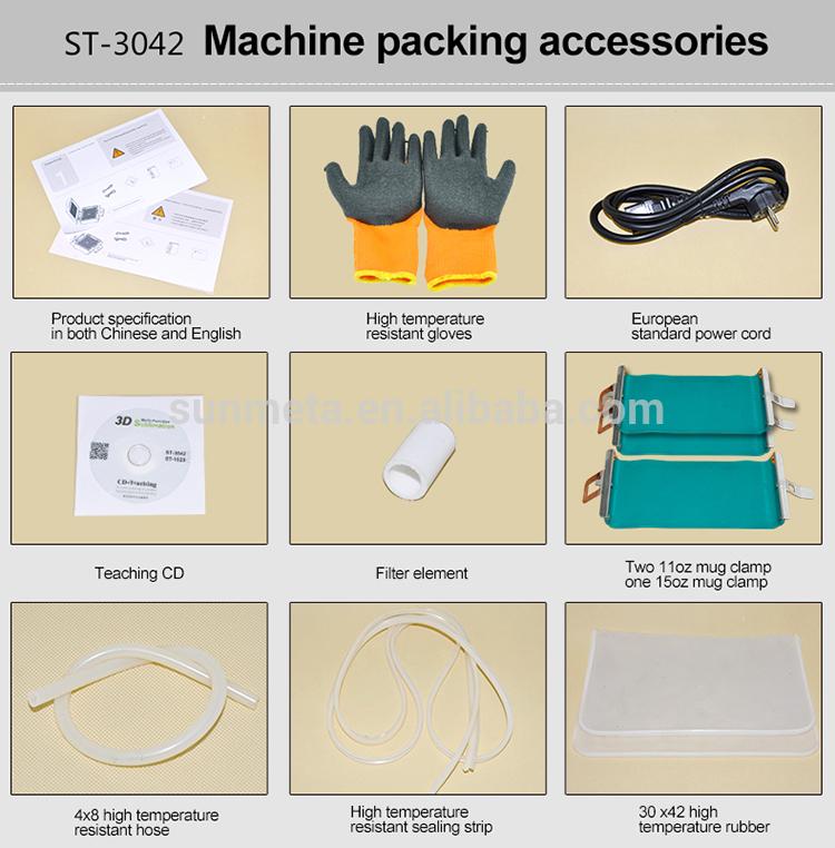Sunmeta 3D Sublimation Phone Case Heat Press Machines
