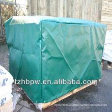 Cubierta de paleta resistente, reutilizable y ligera de PVC