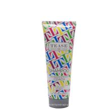 Embalagem de tubo de plástico shampoo Dia50mm 240ml com tampa de rosca