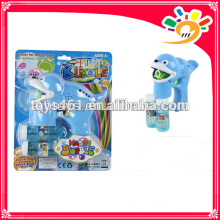 Wholesale B/O bubble gun toys with two bubble water