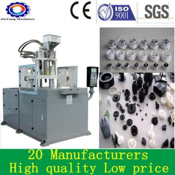 Máquinas de inyección de mesa giratoria de plástico para accesorios de PVC PE