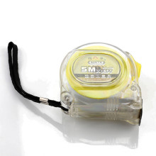 Transparent ABS Case 5 Meters Construction Tools tape measure