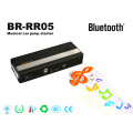 Br-Rr05 Musical Mini Car Jump Starter Haut-parleur Bluetooth