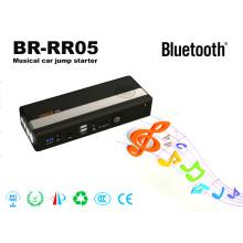 Br-Rr05 Musical Mini Car Jump Starter Haut-parleur Bluetooth