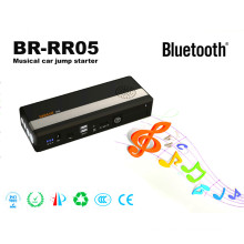 Br-Rr05 Musical Mini Car Jump Starter Bluetooth Speaker