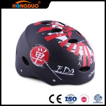 Design moderno personalizado mini capacete engraçado skate skater