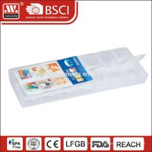 Organizador plástico comprimido