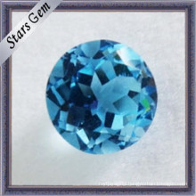 High-Quality Diamond Cut Natural Topaz Stones for Jewelry