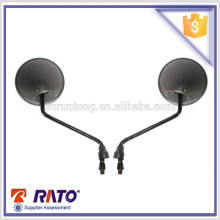 China supplier black motorcycle mirrors round motorcycle rearview mirrors