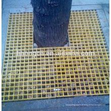 Grades de aço, grades de árvores