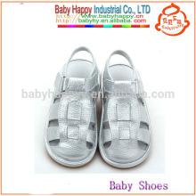 Fancy Silber Schuhe China Kinder quietschende Schuhe und billige Kinder Sandalen